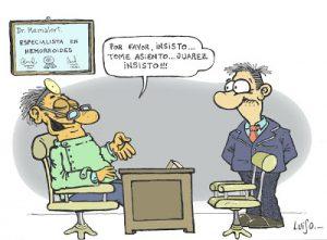 chiste grafico de médico